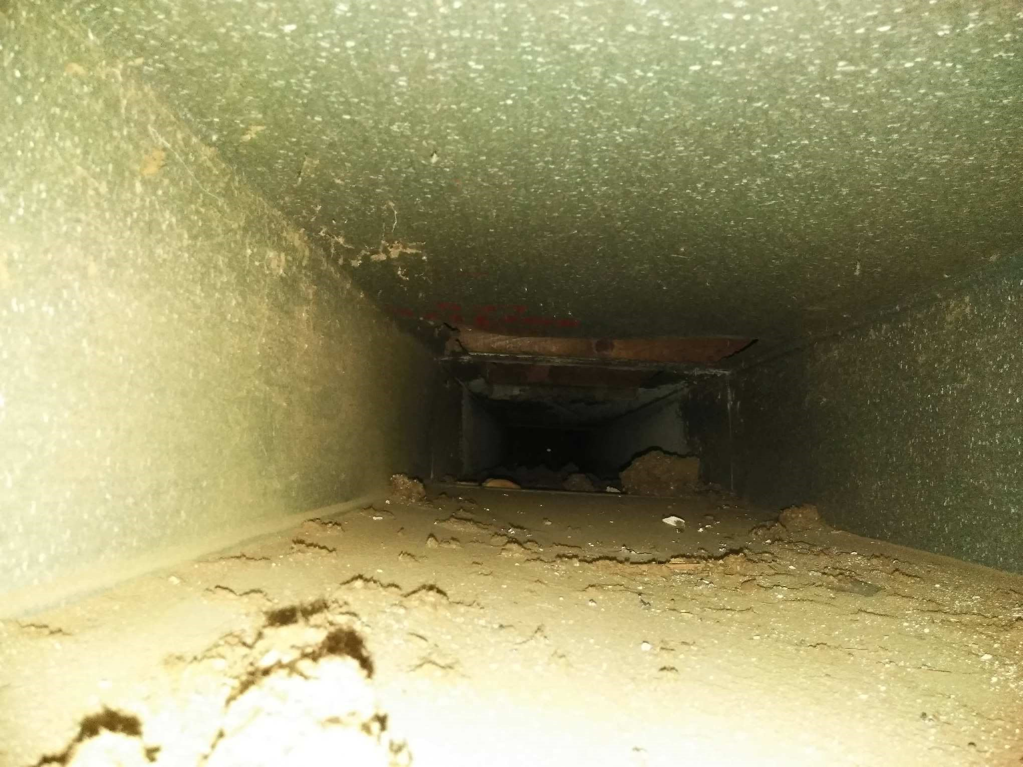 Before Air Duct Cleaning - Roseville, MI