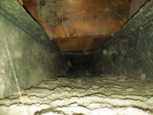 Before Air Duct Cleaning - Warren, MI